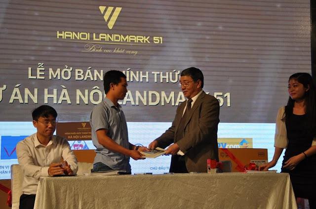 Lễ mở bán chung cư căn hộ cao cấp Hanoi Landmark 51