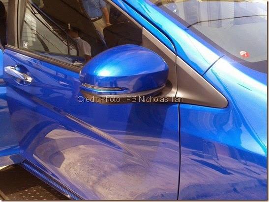 Cermin Sis Honda city 2014