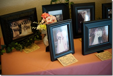Reception Ancestor Photos
