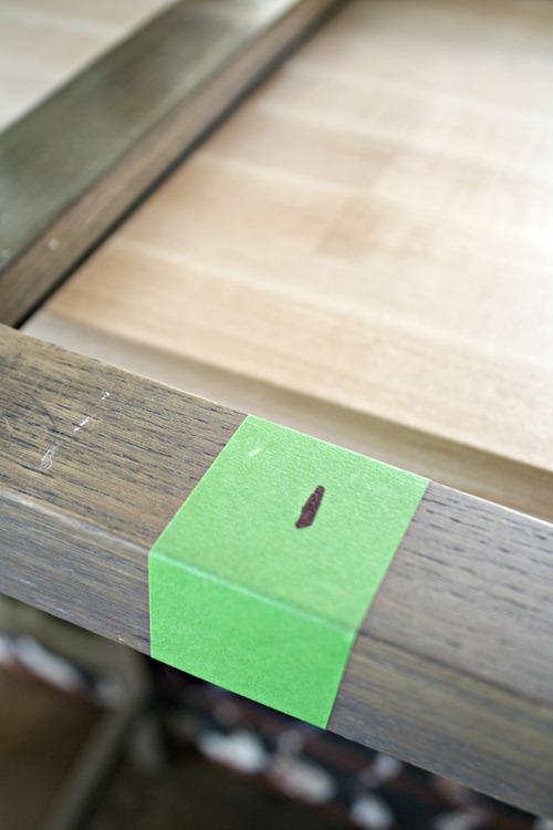 cutting down stools
