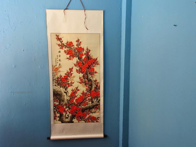 Cherry Blossom Scroll