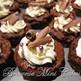 Brownie-mini-cakes