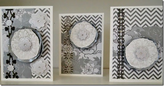 Sympathy Cards Grey and White