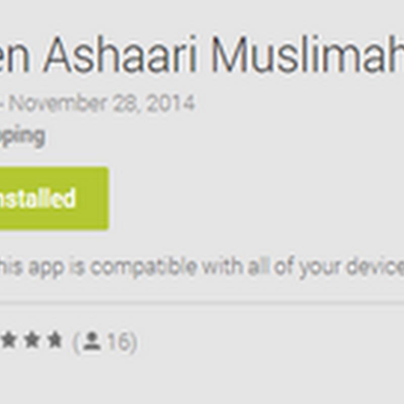BEN ASHAARI Muslimah Channel !