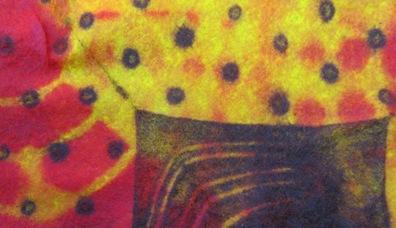 Resist Dyeing Detail 1