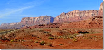 Vermillion Cliffs to Camp Verde AZ 051