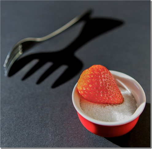 1st STRAWBERRY DESSERT by Steven Baker