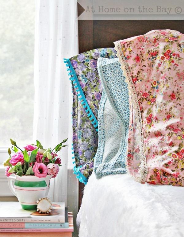 vintage pillowcase tutorial
