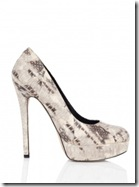 House of Harlow Snake Print Shoes