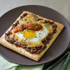 Gluten Free Mexican Breakfast Pizza