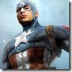 Jogo de briga do Capitão América