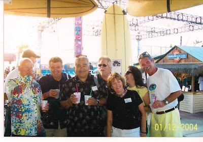 L. To R.Bob Scoldberg, Brian Logan (rear) Denis Schfeldt, Chuy Madrigal, Don Branker & Di Dootson