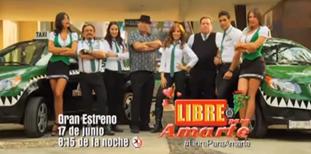 "Tercer promocional de la telenovela ""Libre para Amarte"""