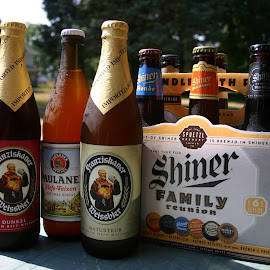 Beers of Germany by Dale Kemp - Food & Drink Alcohol & Drinks ( tasty, beer, alcohol, german, bottles,  )