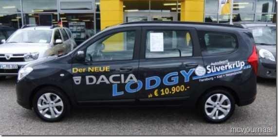 Dacia Lodgy  Duitsland 01