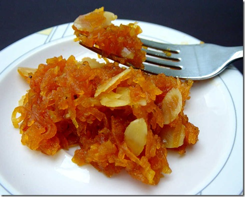 Carrot Lemon and Almond Chutney