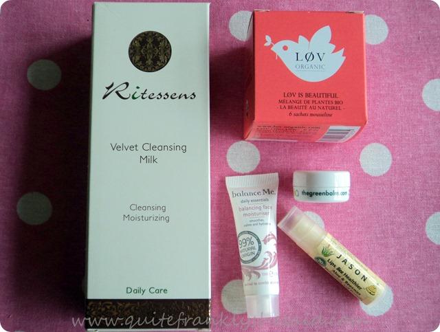 October Joliebox Beauty Box contents