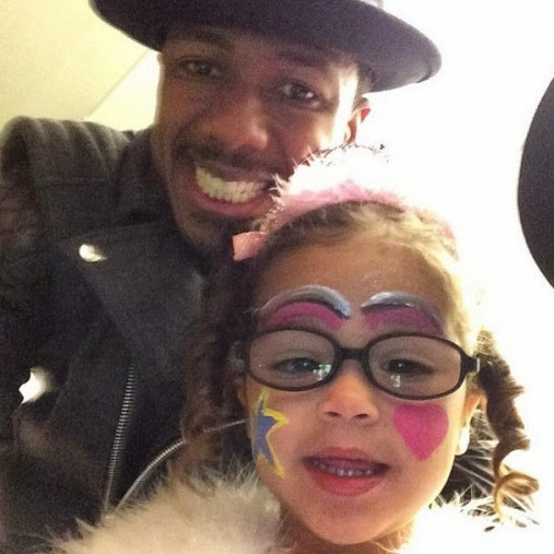 Nick Cannon and Roe