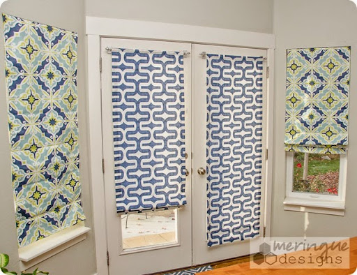 Exceptional If You Want To Make Roman Shades For Your French Doors There Are A Few  Little Changes Youu0027ll Need To Make To The Regular Roman Shade Tutorials  Iu0027ve Written ...