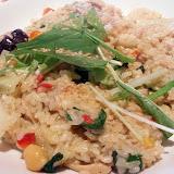 蒸し鶏と野菜のカレークリーム