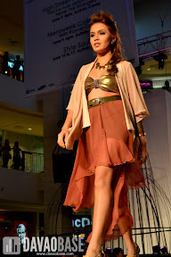 Bold fashion statement during the Style Origin Fashion Show at Abreeza