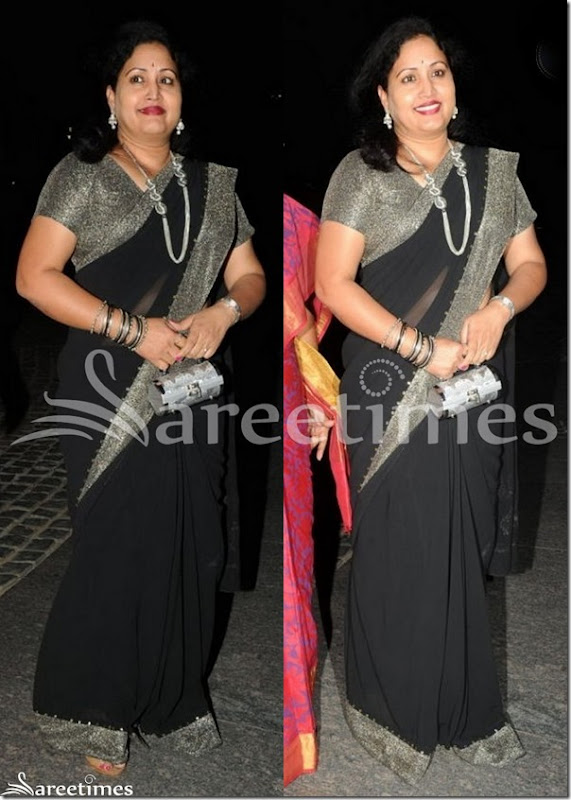 Rajitha_Black_Saree