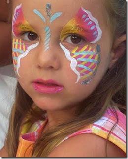 maquillaje mariposa halloween (9)