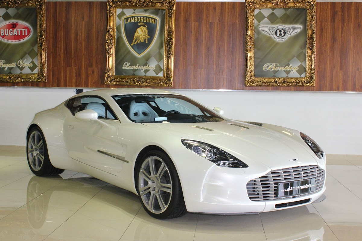 Brand New Aston Martin One77 Can Be Yours for 204 Million