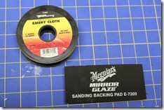 Emery Cloth Sanding Pad