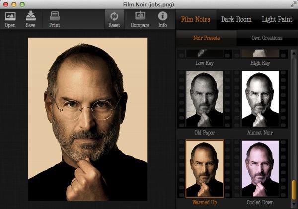 Mac app photography film noir6