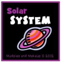 homeschool ideas for Solar System