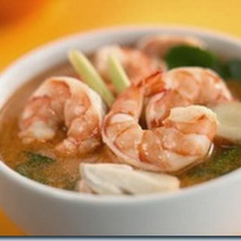 Resep Membuat Sup Udang Kuning