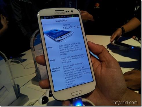 Pelancaran Samsung Galaxy SIII 13