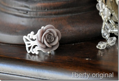 Grey and White Rose