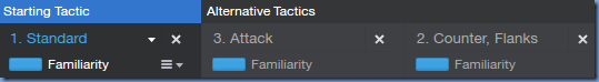 Backup tactics in Football Manager 2014