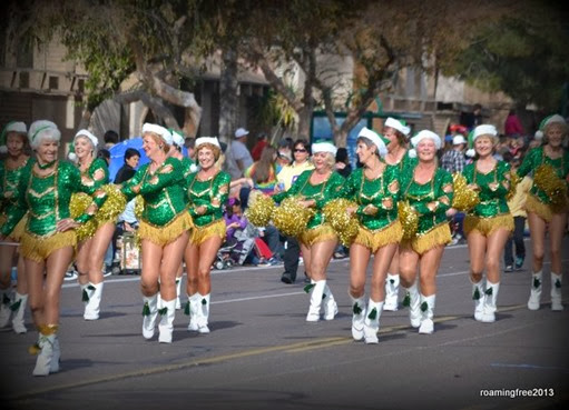 Sun City Pom Pom Dancers - still going strong!