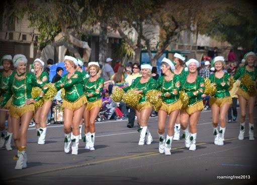 Sun City Pom Pom Dancers - still going strong!