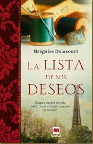 LA LISTA DE MIS DESEOS - DIA DEL LIBRO 2013
