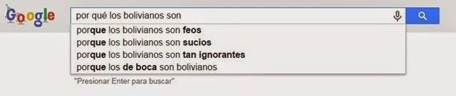 Por qué los bolivianos son sucios
