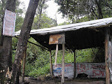The hut at 2,675m on the trail up Slamet from Guci (Daniel Quinn, April 2010)