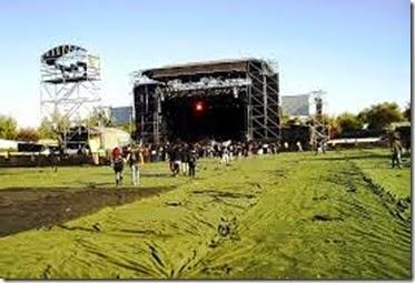 Pista Atletica Estadio Nacional en Chile