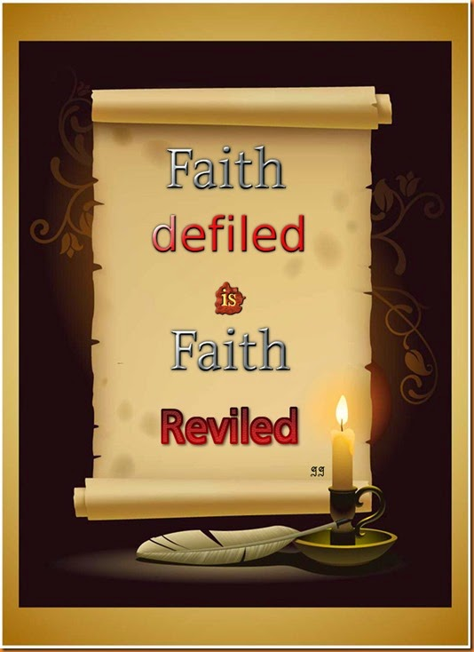 faith defiled