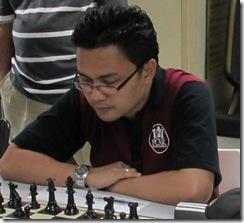 IM Mas Hafizulhelmi, winner of Blitz 2012