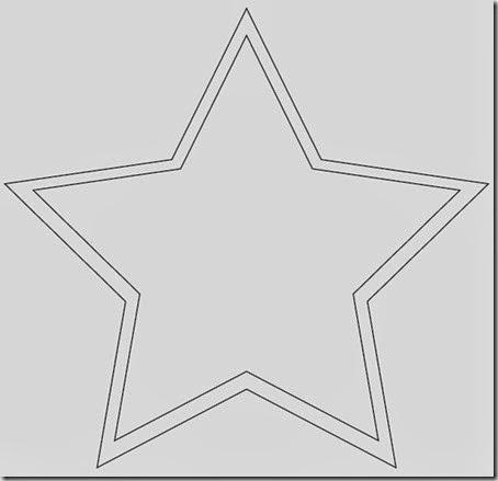 Plantilla estrella 5 puntas - Imagui