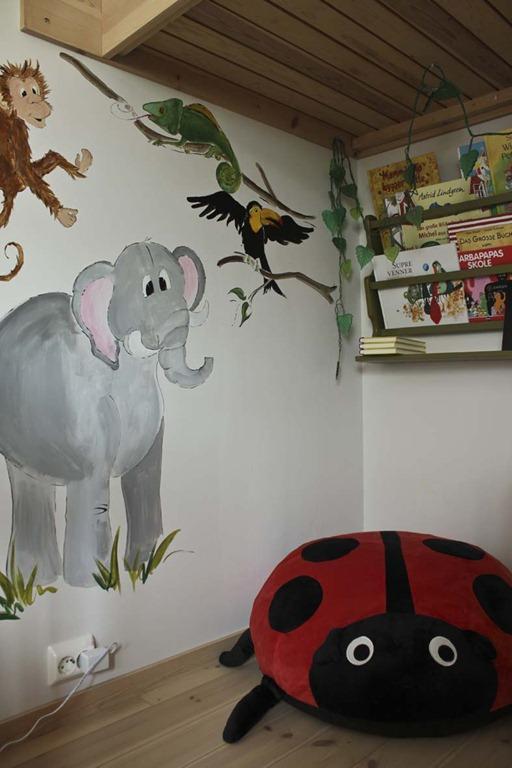 Jeg og libellen: sanselig barnerom