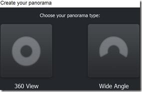 Dermandar scelta tipologia panorama