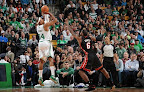 lebron james nba 130127 mia at bos 13 Boston Outlasts Miami in 2nd OT. LeBron Debuts Suede X PE!