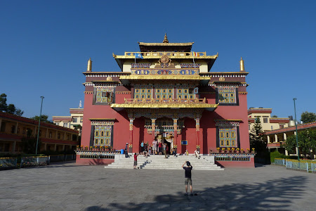 Manastire tibetana langa Kathmandu