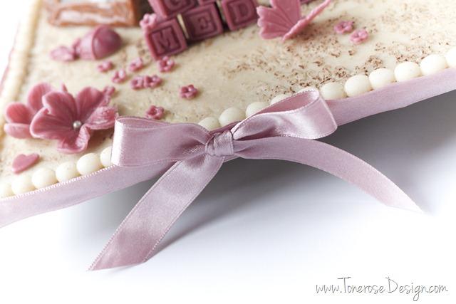 rustikk dåpskake gammelrosa jente dåp IMG_6400