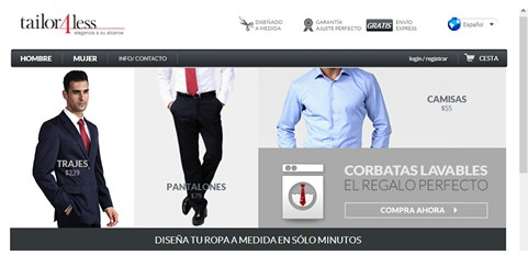 Tienda de ropa online Tailor4less